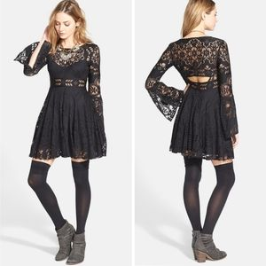 NWT Free People Lover's Folk Song Lace Dress Small